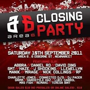 J Shocking vs Haze - Live at the Area 6 Closing Party (September 2011)