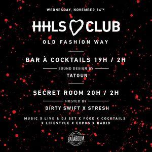 #HHLSCLUB #6 Sound design by TATOUN