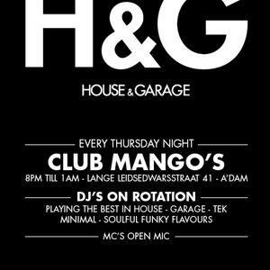 Live @ H&G (House & Garage) Amsterdam