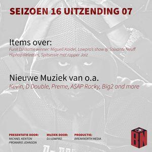 Seizoen 17 Aflevering 07 - Spisessie met Jaiz - items over: Miguell Kaidel, Hiphop releases and more