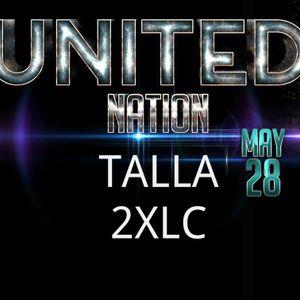 Talla 2XLC at United Nation, 360E, Mexico city - may 28th 2016