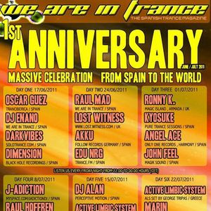 We Are In Trance Anniversary 2011 - Akku Special Guest Mix