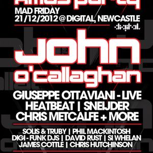 David Rust @ Goodgreef Xmas Party (Digital, Newcastle) [21stDecember2012]