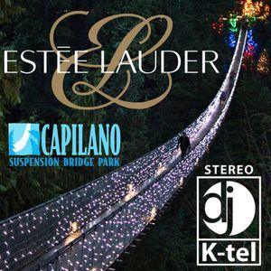 DJ K-Tel live at Capilano Bridge for Estee Lauder 2013 Vancouver