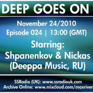 Deep Goes On 024 with Deeppa Music
