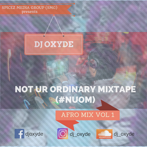 Not Ur Ordinary Mixtape #NUOM Afromix vol 1
