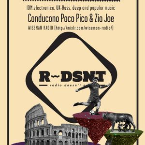 """R-DSNT - """"to Rome with Love"""" # SMIRNEY + HOT LOOP + EQUOHM & SAVEYOURSOUL"""