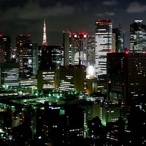 Afterhours: Nite floating over Tokyo