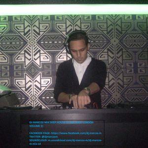 DJ MARCOS M DEEP HOUSE MIX CD (WEROCKLONDON)