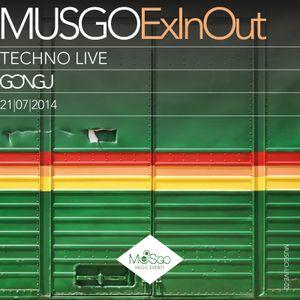 MUSGo GONGU ExInOut LIVE