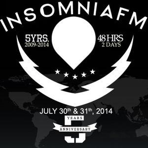 JJ Grant - InsomniaFM 5 Year Anniversary Mix