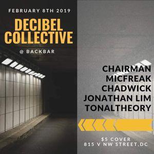 Backbar at 9:30 Club w/ Decibel Collective, 2019 Feb 08
