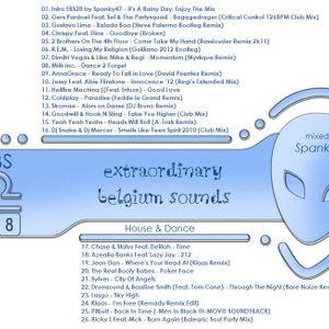 VA - Extraordinary Belgium Sounds 28 CD1 (Home set by Spanky47) mixed on 11-09-2012