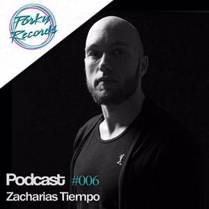 Porky Records Podcast guest. Zacharias Tiempo April 2017