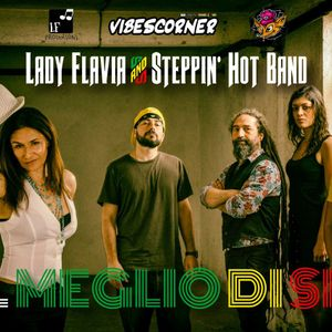 Elis meets Lady Flavia - the original female reggae voice of Rome -  23.05.2019