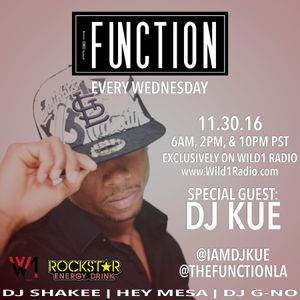 The Function (Episode 48) with DJ SHAKEE, HEY MESA, DJ GNO & guest DJ KUE
