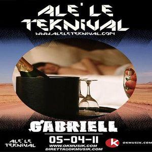 Alè Le Teknival 04.05.2011 - GABRIELL