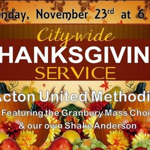 COMMUNITY THANKSGIVING SERVICE HIGHLIGHTS - 2014