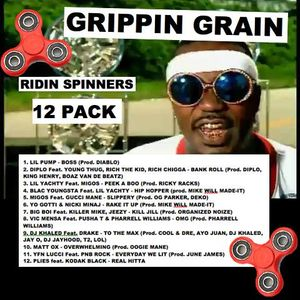 RIDIN SPINNERS 12 PACK