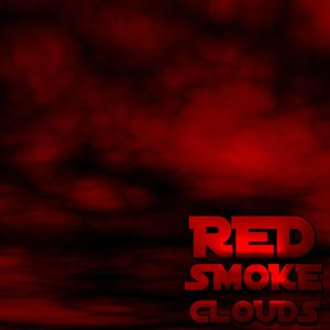 red smoke clouds