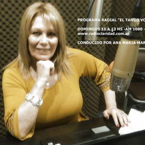 PROGRAMA RADIAL - EL TANGO VOS Y YO- DOMINGO 22-10-2017