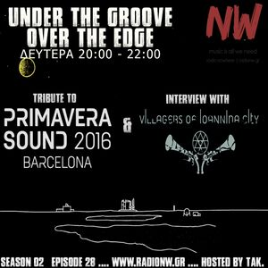 Under the Groove//Over the Edge S02E28 ... Interview with V.I.C. ... hosted by tAk. www.radionw.gr