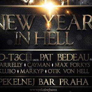 Pekelnej Bar Prague / 31.12.2016 / opening set by MarkyP
