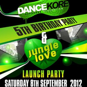 Cyber & Giggly's-DanceKore 5th Birthday Bash-Live recording (9-9-12)