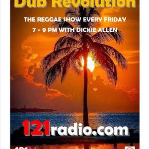 121radio Dub Revolution Reggae Show with Dickie Allen friday 30th April 2021