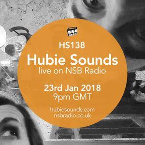 Hubie Sounds 138 - 23rd Jan 2018