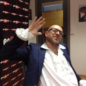 Mario Biondi talks to Cosmas Develegas on Radio Pepper 96.6 (Athens, Greece) - Nov 9, 2012