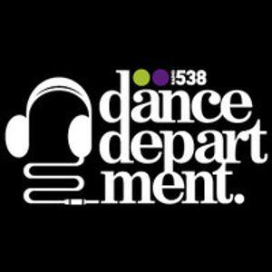 Gabriel Ananda at Dance Department Radio 538 - May 26, 2012