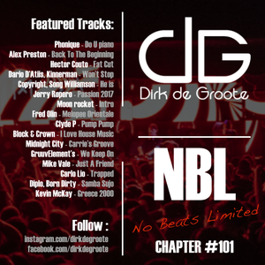 No Beats Limited Chapter 101 - Mixed by Dirk De Groote