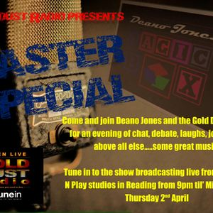 THE MAGIC BOX WITH DEANO JONES - 2-4-15 Easter Special