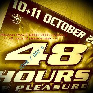 La Bush memories Room I (2003-2005) presents Session XXVI:11-10-2003 48 hours Dj Jochen Closing !!