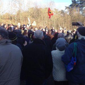 Radio Free Brighton : Interview with Jose Bove at Balcombe Anti-Fracking Demo 19-01-14