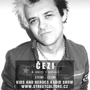 Audiorozhovor: Kečup z kapely The Fialky (pořad Kids and Heroes Radio Show, 24.3.2015)
