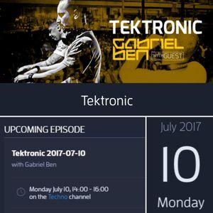 Gabriel Ben Presents Tektronic 099 (July 2017)