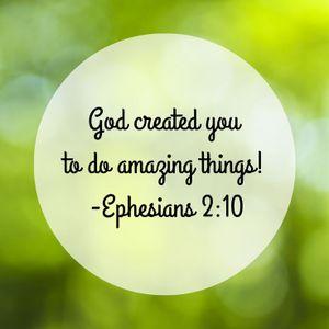 God Created You To Do Amazing Things! - Pastor Dan McLaughlin 8/14/16