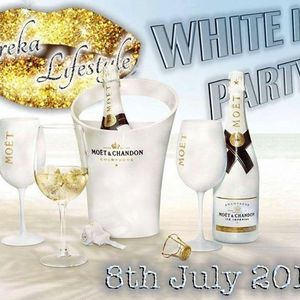 White Ice Pool Party