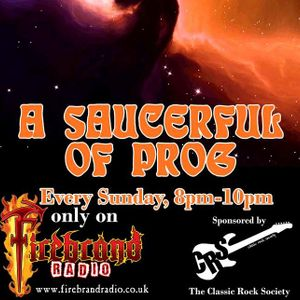 A SAUCERFUL OF PROG with Steve Pilkington (Broadcast 2 April 2017)