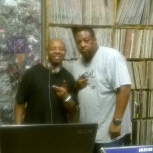 GROOVE SESSION DJ'S C.REED AND DONNIE DISCO ...LIVE DJ SESSION IN THE BASEMENT AT DISCO'S HOUSE