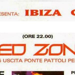 Flavio Vecchi & Ricky Montanari d.j.'s Red Zone Club (Perugia) Ibiza convention 30 04 1997