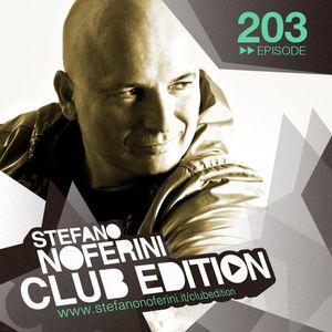 Stefano Noferini - Club Edition 203 [16.08.2016]