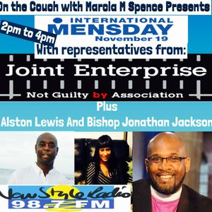Celebrating International Mens Day 19th November 2015  JENGBA plus Bishop J Jackson & Craig Pinkney