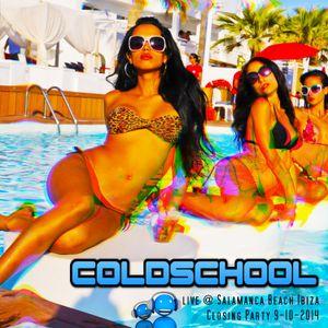 COLDSCHOOL live @Salamanca Beach Ibiza - Closing Party 9.10.2014