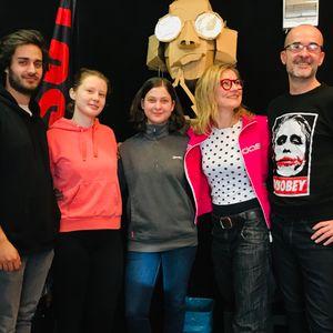 Kukorica Jancsi a Tilos Rádióban - Art-ravaló a Nemzeti Színházban