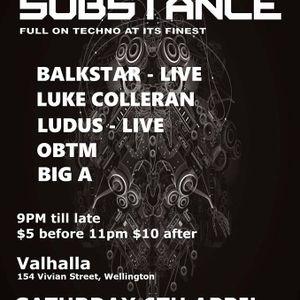 Substance 03- - 06 April 2019 -- last couple of hours .. Dj OBTM & OBTM b2b Luke Colleran