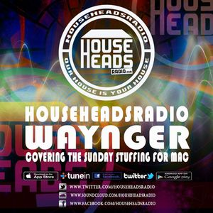 27.03.2016 Waynger - HouseHeadsRadio - Cover for Mac