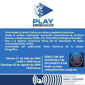 Programa 43. Asociación Internacional de Archivos Sonoros y Audiovisuales, IASA (31/07/2020)